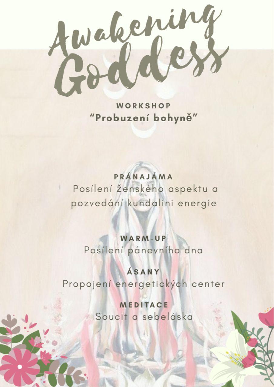 Probuzení bohyně (workshop pro ženy)