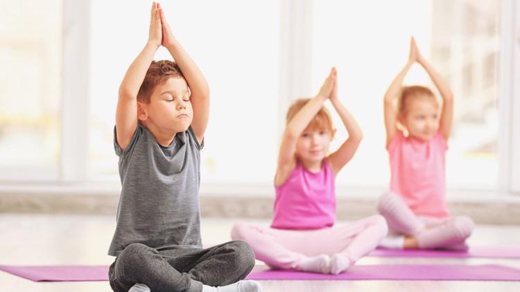 Jógové dopoledne pro děti a rodiče