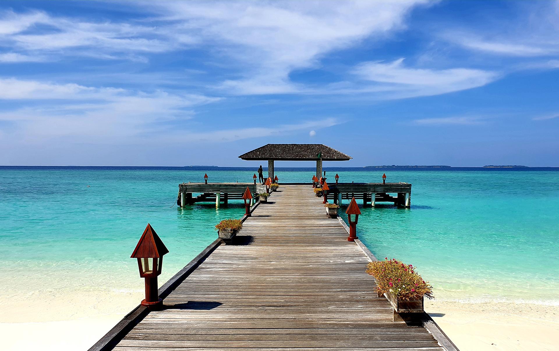 Jógová dovolená na Maledivách