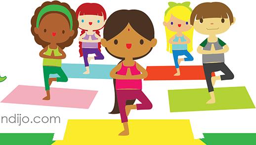 Dětská jóga (6-10 let) - kurz